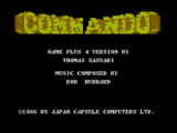 Commando, plus/4 Version